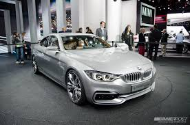 Quick jaunt through 2013 NAIAS: BMW 4 Series Coupe Concept and BMW ...