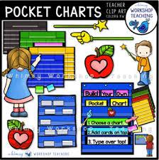 Teacher Pocket Chart Build A Pocket Chart Clip Art