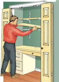 closet to office. build a closet office honey do list to i