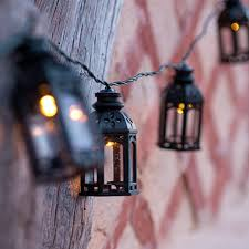 solar fairy lights moroccan lanterns