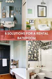 apartments inside bathroom. roundup: 8 solutions to help your rental bathroom apartments inside
