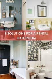Best 25+ Rental bathroom ideas on Pinterest | White tiles black ...