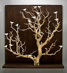 birds in trees large by chris stiles ceramic wood wall sculpture artful home on large wooden tree wall art with birds in trees large by chris stiles ceramic wood wall