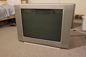 sony tv trinitron. sony trinitron kv-27fv310 tv