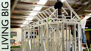 Small Picture Steel Framing With FRAMECAD Erecting the Frame YouTube