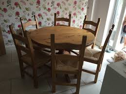 Round Kitchen Tables For 6 Round Table 6 Chairs Dining Room Great Round Table 6 Seater