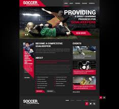 Free Dreamweaver Website Templates Soccer Responsive Website Template 24 Dreamweaver Responsive 24