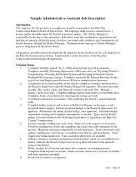 Administrative Assistant Duties Resumes Administrative Lucky Resume Templates And Cover Letters