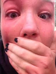 eyelash curler gone wrong. c on twitter: \ eyelash curler gone wrong o