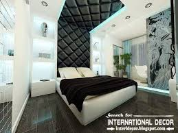 Modern pop false ceiling designs for bedroom 2015, leather ceiling drywall