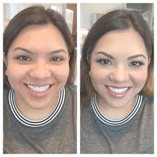 bridesmaid before and after hispanic skin hispanic weddings fort worth