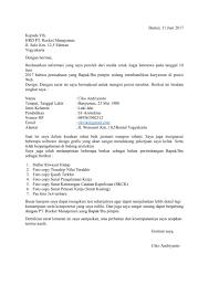 Download Contoh Surat Lamaran Kerja Pdf Terbaru