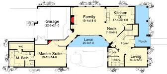 House Plan With Two Master Suites   WG   st Floor Master    Floor Plan