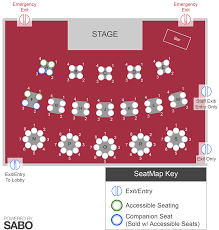 Theater Auditorium Seating Charts Sunset Playhouse