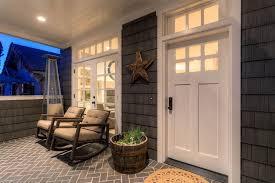 study built ins coronado contemporary home office. Craftsman Porch With Exterior Tile Floors, Herringbone Wrap Around Porch, Study Built Ins Coronado Contemporary Home Office N