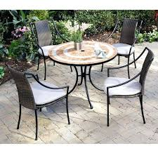 small patio table and chairs round