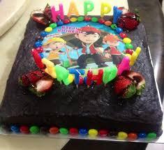 Housewifes Kitchen Animated Chocolate Moist Cake Boboiboy
