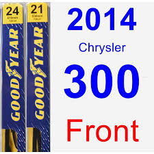 2014 Chrysler 300 Wiper Blade Set Kit Front 2 Blades Premium