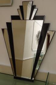 Full Size of Dining:art Deco Style Wonderful Mirrored Wall Tiles In Glitz  And Glamour ...