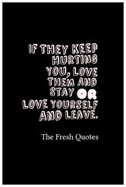 Hurting Yourself Quotes Best of 24 Hurt Quotes Sayings Broken Heart TheFreshQuotes
