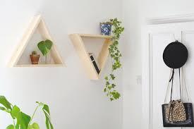 diy triangle shelves burkatron
