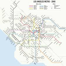 map a potential  los angeles metro subway system map   kpcc