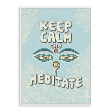 Keep Calm Quotes Custom Modern Oriental Buddha Keep Calm Quotes A48 Art Prints Poster Wall