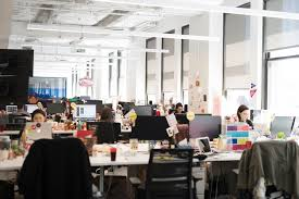 natural light office. natural light floods our nyc hq buzzfeed office k
