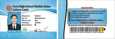 021 Student Id Card Design Template Psd Free Download The