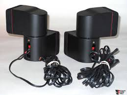 bose double cube speakers. two bose lifestyle redline double cube speakers o