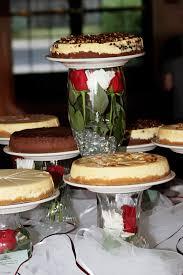 Cheesecake Display Stands Wedding Photos Muddy Paws Cheesecake 14