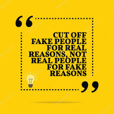 Quote Symbol Mesmerizing Inspirational Motivational Quote Cut Off Fake People For Real R