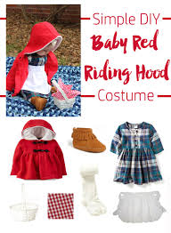 baby red riding hood costume