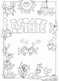 Disegni Da Colorare Estate Scuola Infanzia 17 Fantastiche Immagini