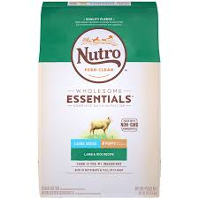 Nutro Wholesome Essentials Puppy Large Breed Natural Dry Dog Food Lamb Rice Recipe 30 Lb Bag