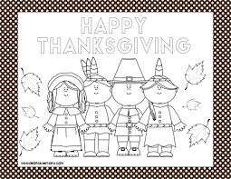 Print the pdfs onto 11 x 14 inch white cardstock. Printable Thanksgiving Placemats Real Housemoms