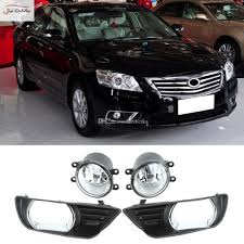 Toyota Camry 2007 Light Bulb Car Fog Lights For Toyota Camry 2007 2009 Front Fog Lights Bumper Lamps Kit Switch Wiring One Pair Lamp Fog Lamps For Cars From Beibeika 119 6