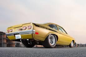 this big block powered 1972 chevrolet vega 3 1972 pro street vega rear