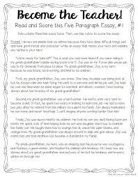 Write An Essay About A Good Teacher Essay Manuals