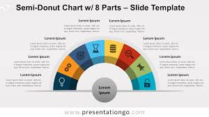 Slide O Chart Semi Donut Chart With 8 Parts For Powerpoint And Google Slides