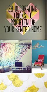 Small Picture 28 Decorating Tips for Renters Super cute ideas on how to add