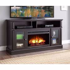 electric fireplace tv stand entertainment center media console heater wood flame