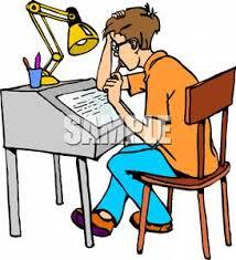 Image result for student doing homework image