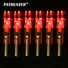 Lighted Knocks Pathunter 12pcs Shooting Archery Lighted Nock Compound Bow