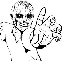 Zombie Coloring Pages Zombies Coloring Pages Zombie Coloring Page