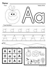 Free phonics worksheets from k5 learning; Alphabet A Z Worksheets Identify Write Single Sounds Phonics Preschool Writing Alphabet Preschool Kindergarten Letters