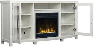 white tv stand with fireplace canada