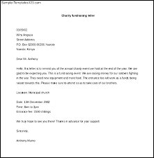 Donation Letter Samples Fundraising Letter To Businesses Examples Of Solicitation Letters