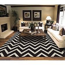 black and cream rug. Large Chevron Pattern Rugs For Living Room Black Cream 8x11 Wavy 8x10 Modern Zig Zag And Rug