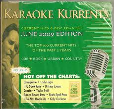 Karaoke Kurrents 6 Disk Cdg Set Current 2007 June 2009 Pop Country Rock Urban 100 Songs Cd